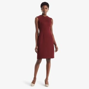 Maggie Dress textured ponte Pinot NWT